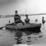 Краснодар. Старая Кубань, вид на восток, в сторону Гидростроя, начало 1960-х