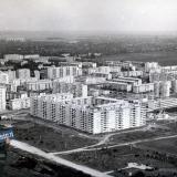 Краснодар. Вид на Гидрострой со стороны перекрестка ул. Автолюбителей/Невкипелого, 1978 год
