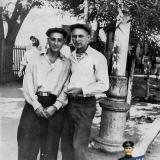 Краснодар. На улице Сталина, у перекрёстка с Пашковской, сентябрь, 1953 год.