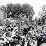 Краснодар. Последний звонок в СШ № 30, 1956 год