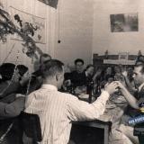 Краснодар. Празднование Нового, 1940 года, в доме по ул. Красной, 120