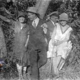 Краснодар. Прогулка в Круглик, 1927 год
