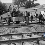 Краснодар. Работы на улице Красной. 4 сентября 1949 года.