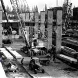 """Краснодар. Реконструкция стадиона """"Кубань"""". Вид с восточной трибуны. 1980 год"""