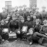 Краснодар. Рота связи Краснодарской школы пилотов, 1940 год.