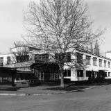 Краснодар, КСХИ, вид на столовую и общежитие № 4 , 1980-е