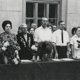 Краснодар. Школа № 48. 1972 год, последний звонок