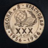 Краснодар. Школа № 8. 30 лет выпуска, 1986 год