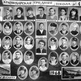 Краснодар. Средняя школа №4. Выпуск 1968 г.
