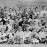 "Краснодар. СШ №30, 1 ""Г"" класс, 1960 год."