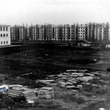 Краснодар. Стрйплощадка университета, 1966 год