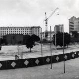 Краснодар. Строительная площадка по адресу Шаумяна 108, 1988 год
