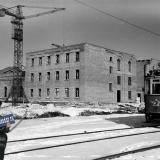 Краснодар. Строительство ДК ЗИП, зима 1956/57 года