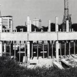 Краснодар. Строительство крытого рынка, 1988 год