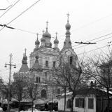 Краснодар. Свято-Георгиевский храм, зима 1962-63 года