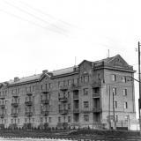 Краснодар. Трамвайная улица дом 4, 1955 год