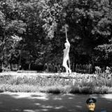 Краснодар.  У фонтана в городском парке им. М.Горького