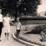 Краснодар. У здания Крайисполкома, июнь 1965 года