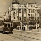 Краснодар. Угол ул. Красной и Ворошилова, 1949 год