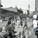Краснодар. Угол ул. Красной и Гимназической, вид на север, август 1942 года