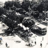 Краснодар. Угол улиц Сталина и Ворошилова, вид на юго-запад, 1955 год
