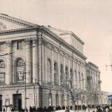Краснодар. Угол улиц Гоголя и Красной, вид на северо-запад, 1955 год