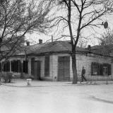 Краснодар. Угол улиц Красноармейской и Орджоникидзе, вид на северо-восток, 1965 год.