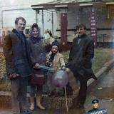 Краснодар. Угол улиц Красной и Гоголя, 7 ноября 1973 года