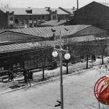 Краснодар. Угол улиц Красной и Комсомольской, вид на юго-восток, 1955 год
