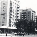 Краснодар. Угол улиц Красной и Мира, вид на северо-восток, 1970 год