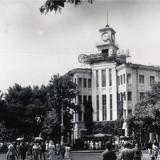Краснодар. Угол улиц Красной и Мира, вид на юг. 1987 год