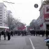 Краснодар. Угол улиц Мира и Красной, вид на восток, 1971 год