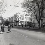 Краснодар. Угол улиц Мира и Шаумяна (Рашпилевской), 1987 год