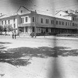 Краснодар. Угол улиц Постовой и Захарова, вид на юго-запад, 1976 год.