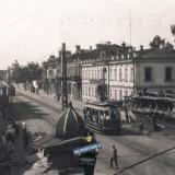 Краснодар. ул. Красная на юг от ул. Пролетарской (Мира), около 1929 года
