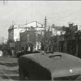 Краснодар. ул. Красная, вид на ул. Свердлова. Зима 1942 года.