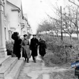 Краснодар. На улице Шоссе Нефтяников. Ноябрь 1954 года.