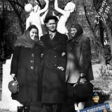 Краснодар. В сквере им. Свердлова, 7 ноября 1953 год.