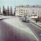 Краснодар. Улица Офицерская от Шоссе Нефтяников до Красной. Апрель 1971 года