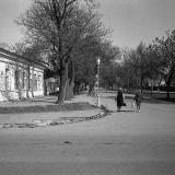 Краснодар. Улица Октябрьская № 14. Перекрёсток с Тельмана, 1977 год.