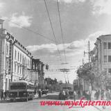 Краснодар. Улица Сталина, перекрёсток с Мира.