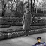 Краснодар. В сквере им. В.И. Ленина. 1961 год.