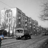 Краснодар освобождённый. На улице Красной, 1943 год.
