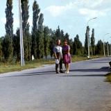 Краснодар. В парке 40-летия Октября, конец 1970-х