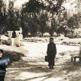 Краснодар. В парке им М. Горького, около 1953-1954 годов