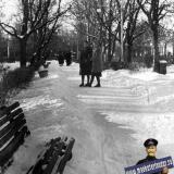 Краснодар. В сквере им. Свердлова. 29 января 1961 года.