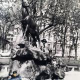 """Краснодар. В """"Скверике со Слоном"""", 1974 год"""