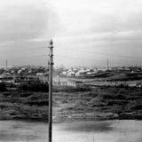 Краснодар. Вид из окна общежития пединститута, 1966 год