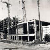 Краснодар. Вид на Детский диагностический центр со стороны ул. Короткой, 1988 год