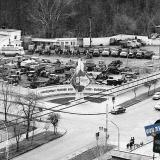 "Краснодар. Вид на перекресток улиц Шаумяна и Бабушкина с дома ""Волна"""